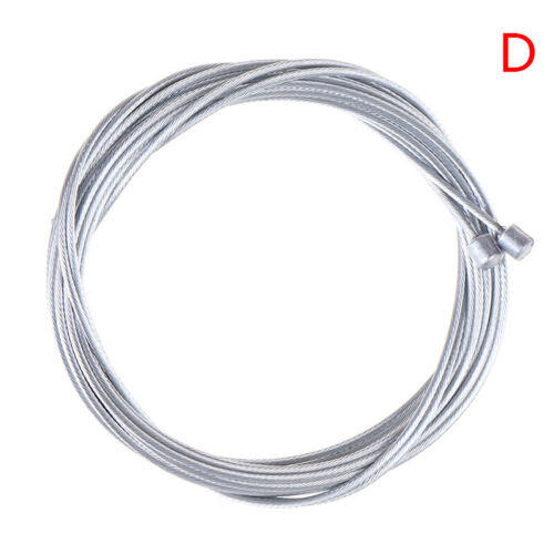 2Pcs Road Bike Gear Bicycle Brake Line Shifter Core Rear Inner Cable WiTS