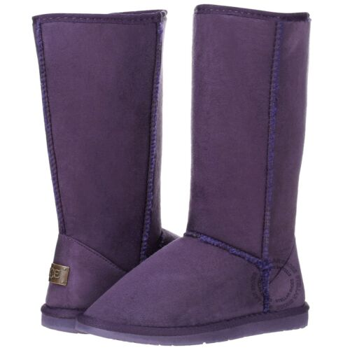 New Women/'s Mid Calf Classic Tall Winter Snow Fur Suede Skin Boots