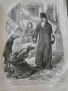 Gravure-1867-Un-pretre-Russe