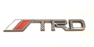 TRD-CARBON-FIBER-STYLE-Logo-Emblem-Badge-Self-Adhesive-Decal-for-Toyota-3D