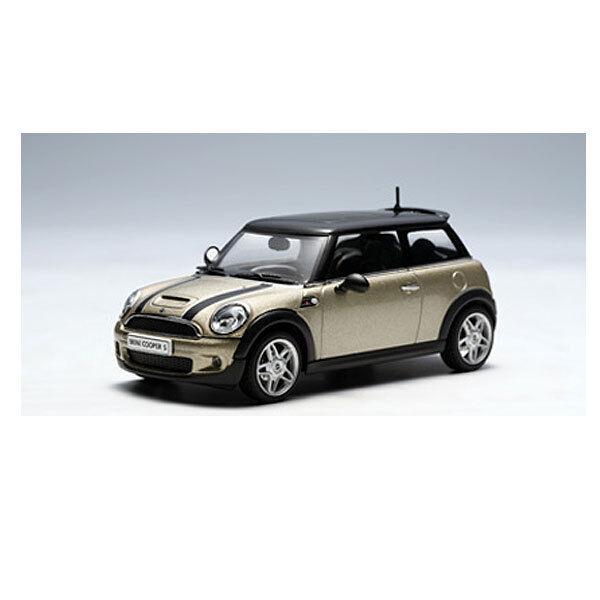 echa un vistazo a los más baratos Autoart 1 43 2006 Mini Cooper S-plata Pura Pura Pura Techo Negro 55007  el estilo clásico