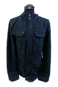 NEXT SIGNATURE Herren Wolljacke Gr. L Italian Wool Winter Jacke schwarz