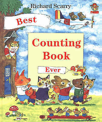 Best Counting Book Ever by Scarry, Richard, Acceptable Book (Hardcover) Fast & F