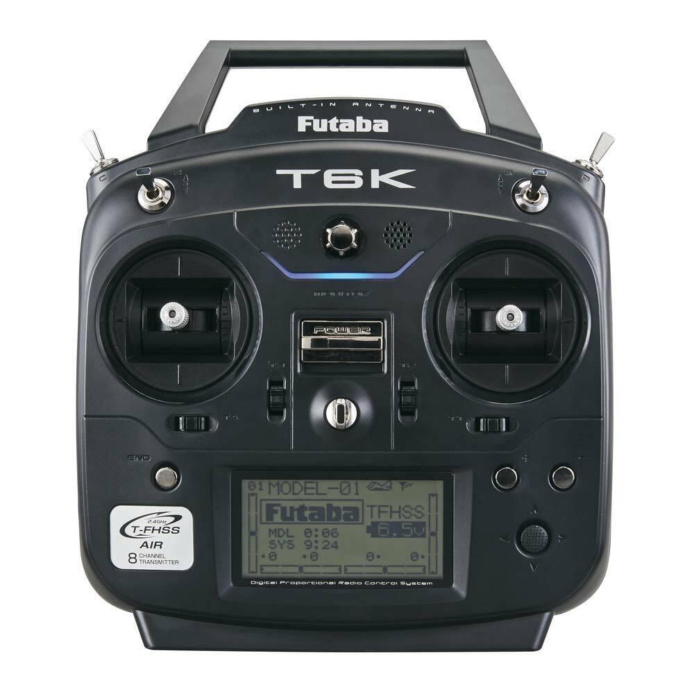 Futaba 6K V2 8-Channel S-FHSS T-FHSS  Heli System FUTK6110  incentivi promozionali