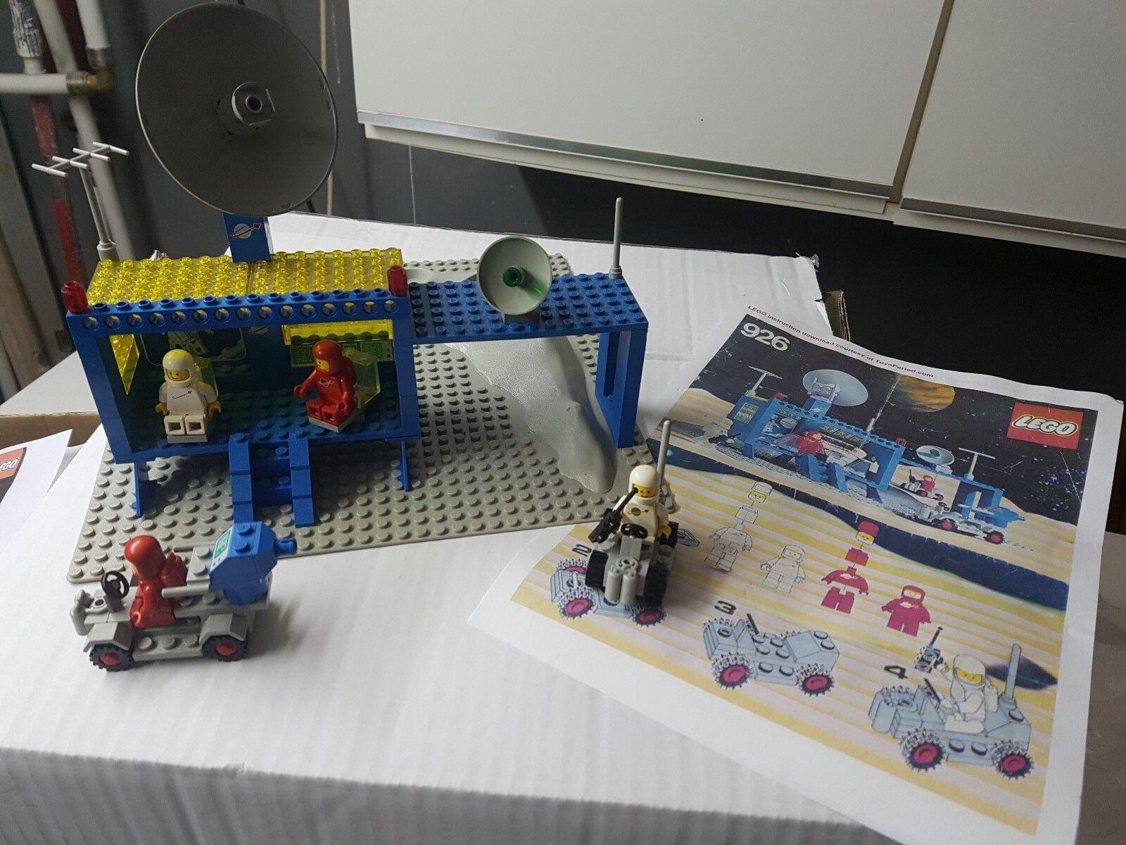Lego Space Classic 926 Space Comman Center aus den 80 er Jahre