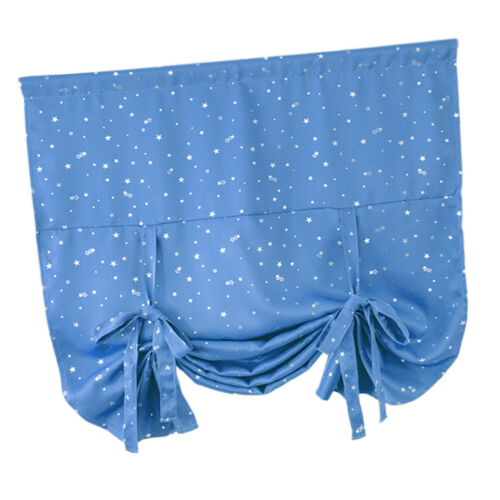Blackout Window Balloon Curtain Tie-up Shade Blind for Small Window 46x63 in