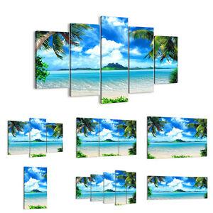 Cuadro en lienzo 30 Modelos Playa vacaciones isla palma 2528 ES