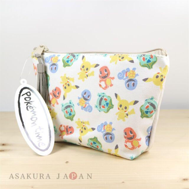 Clear pouch case Pikachu Pokemon Center Original GENGAR DE HIYARI !