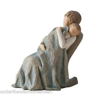 New-amp-Boxed-Willow-Tree-Figurine-The-Quilt-26250-Gift