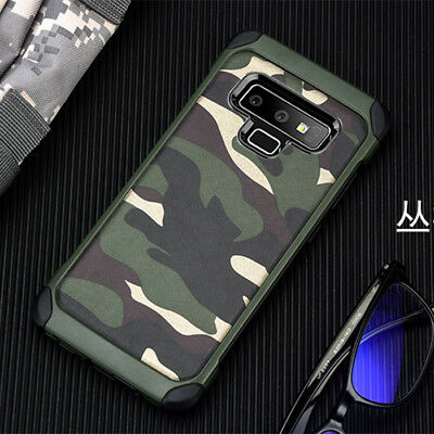 best service bc2a9 582cd For Samsung Galaxy Note 9 Cover Camouflage Military Multicam Camo Army Case    eBay