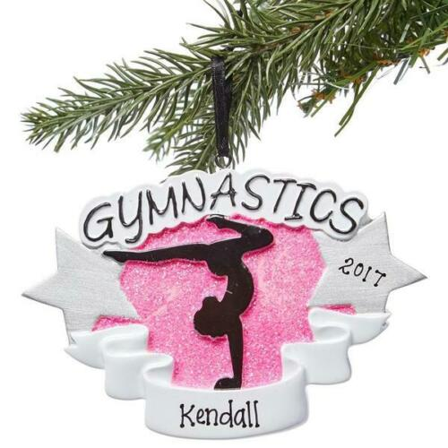 Gymnastics Gymnast Personalized Christmas Ornament