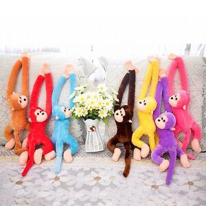 Baby-Kids-Soft-Long-Arm-Monkey-Stuffed-Animal-Doll-Gift-Plush-Toys-Cute-Colorful