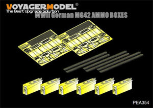 Voyager-Models-1-35-WWII-German-MG42-Ammo-Boxes-Universal-set