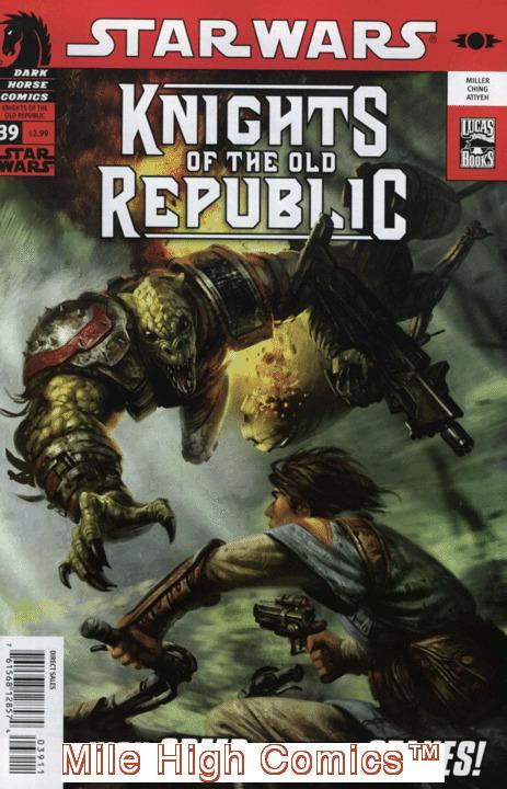 STAR WARS: KNIGHTS OF THE OLD REPUBLIC (2005 Series) #39 Near Mint Comics Book