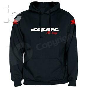Felpa-CBR-600-RR-1000-Fireblade-Honda-Racing-HRC-Pista-Strada-Corse-Hoodies
