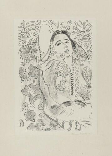 Fauvism Art Poster 1924 Arabesqueh Expressionism HENRI MATISSE