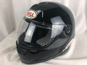 BELL-FULL-FACE-Black-MOTORCYCLE-SPRINT-HELMET-SNELL-M2000-Size-XS-Vented