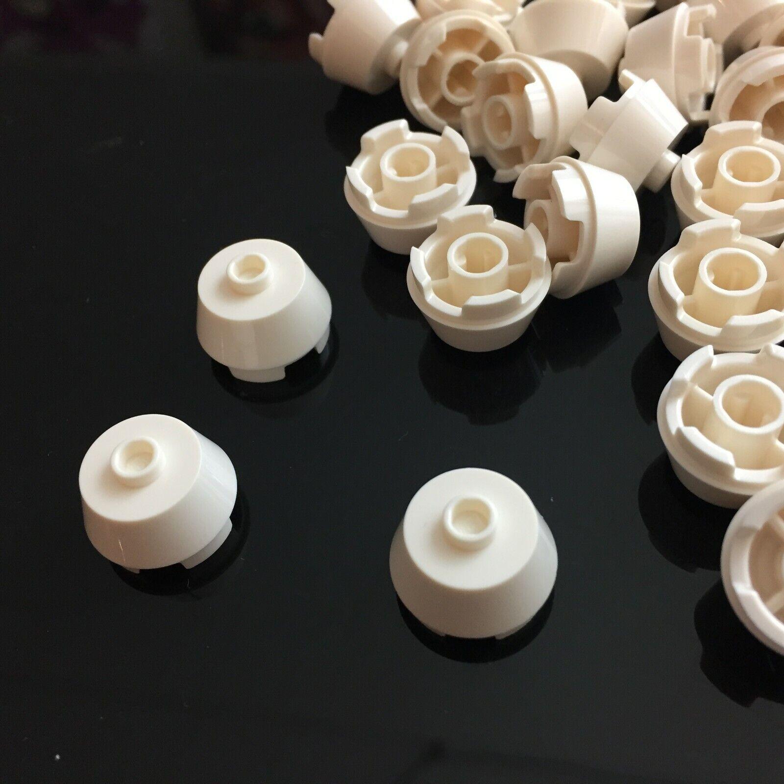 LEGO Light Bluish Gray Wheel 8mm D.x6mm Lot of 100 Parts Pieces 4624