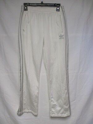 Pantalon ADIDAS rétro vintage blanc argent Trefoil girl femme sport pant 38 | eBay
