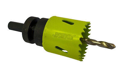 Jigtech 25mm Holesaw and Arbor for Jigtech Smart Door Handle Fitting System