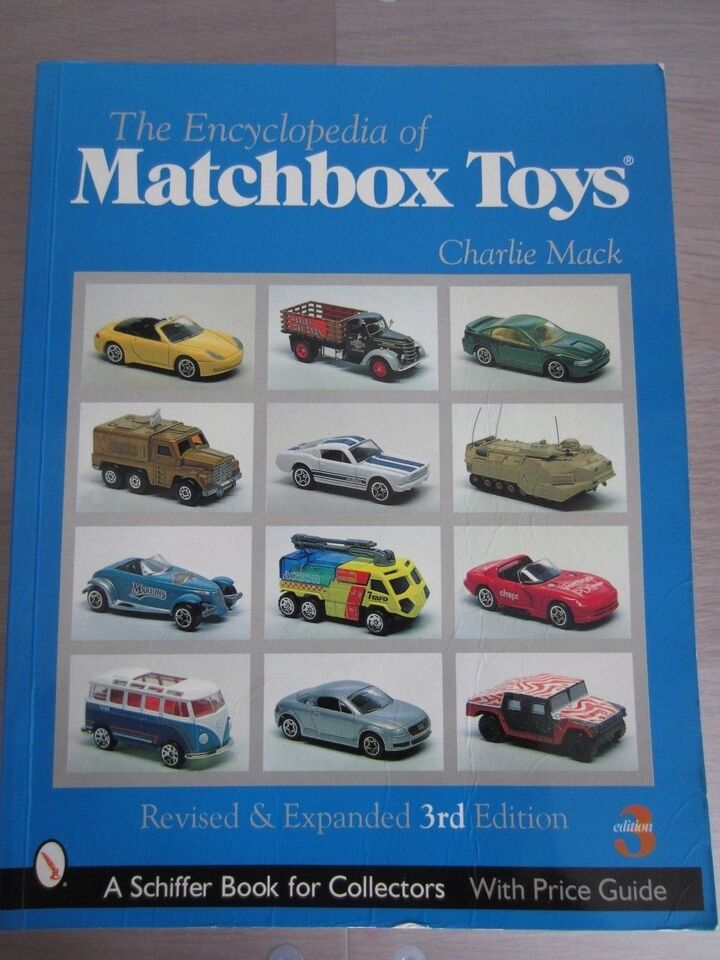 Andet, A Schiffer Book for collectors Matchbox Toys