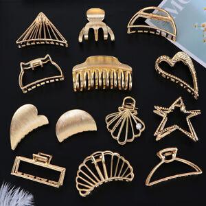 pain-Coiffure-Wedding-Party-Geometrique-Pince-a-cheveux-Pince-metallique-Crabe