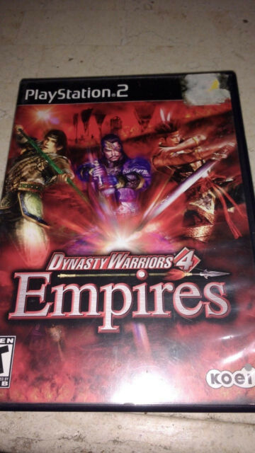 Dynasty Warriors 4 Empires Ps2