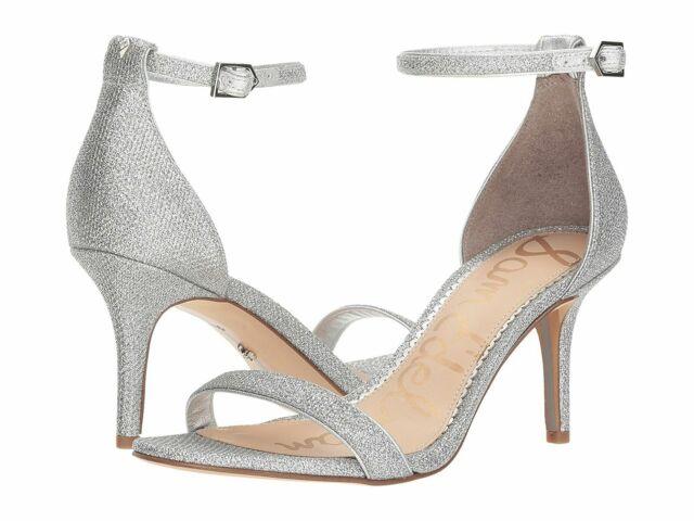 Sam Edelman Womens Patti Silver Ankle