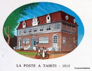 Courageux Yt 323 La Poste En 1915 Tahiti PolynÉsie FranÇaise Fdc 1° Jour Ture 100% Garantie