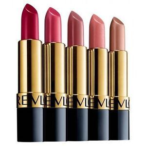 Revlon Super Lustrous Lipstick - Matte/Pearl & Creme Shades - Sealed RRP £7.99