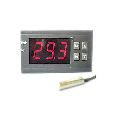 Digital Temperature Controller Thermostat w/Sensor Control Relay 12V/110V/220V