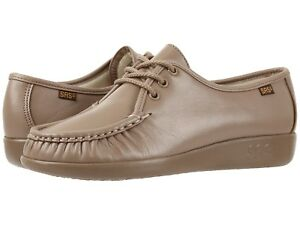 2020 authentic low price sale Details about Womens SAS Shoes Siesta Mocha Narrow Width Size 7 Comfort USA  Made $129 Retail