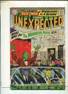 Tales-Of-The-Unexpected-94-VG-FN-034-The-Monster-Mayor-U-S-A-034-DC-Comics-SA