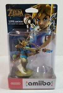 Nintendo Amiibo Link Archer The Legend of Zelda Breath of the Wild (3DS, Switch)