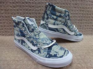 Sk8 Trwht Hombre índigo Cremallera Zapatos Azul Tropical hi Vans Entallado qdwSXYq