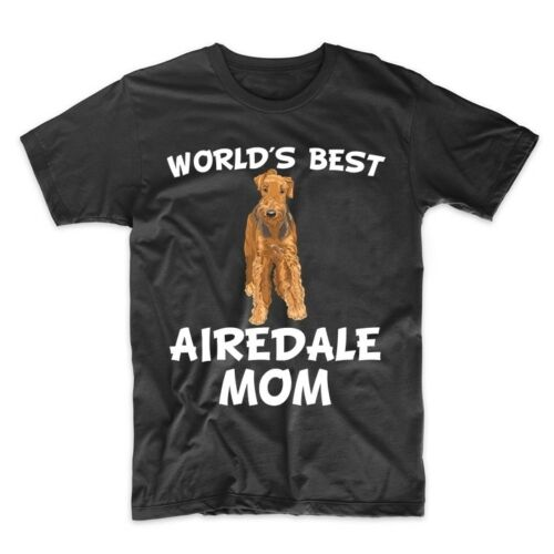 World/'s Best Airedale Mom Dog Owner T-Shirt