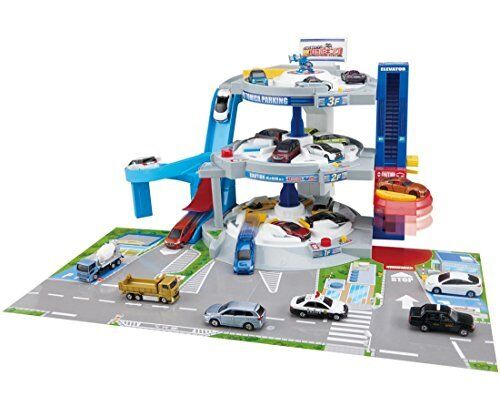 Tomica round and round shoot  DX Tomica parking Miniature Car Takara Tomy