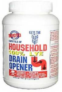 1 Lb Rooto 100 Lye Sodium Hydroxide Ebay