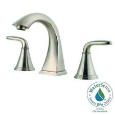 Widespread Bathroom Faucet In Brushed Nickel LF 049 PDKK  Pfister Pasadena  8 In. Widespread Bathroom Faucet In Brushed Nickel LF 049 PDKK