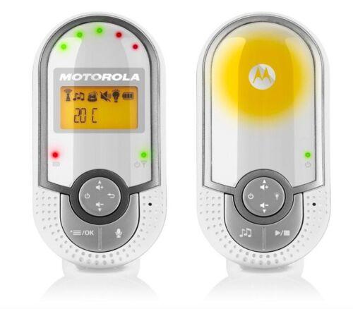 Nuevo Motorola MBP16 Digital Bebé Monitor portátil Audio 2-Way Luz Nocturna
