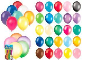 1-10-Plain-METALLIC-PEARL-Standard-Ballon-Fete-Decoration-Anniversaires