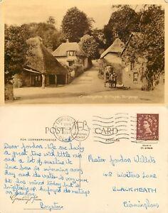 s11112 Cockington Forge Torquay Devon England postcard posted 1957 stamp - London, United Kingdom - s11112 Cockington Forge Torquay Devon England postcard posted 1957 stamp - London, United Kingdom