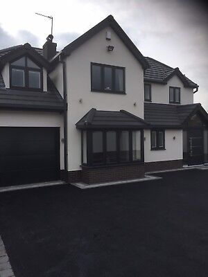 Anthracite Grey Ral 7016 Sectional Garage Door Free Colour
