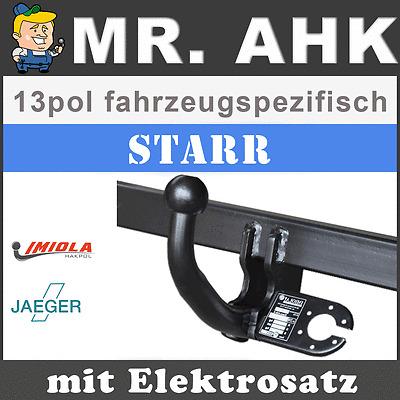 Berlingo MF Auto Hak Anhängerkupplung starr E-Satz 13pol universell AHK /& ES