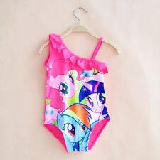 Kids Girls Swimwear Swimmable Mermaid Tail Bikini Set Costume Beachwear Swimsuit