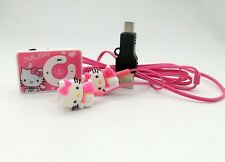 Pink Hello kitty mp3 player,Hello kitty earphone  & cable
