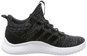 adidas Ultimate Bball Men s Athletic Shoes Sneakers Black   White ... a6686ae3c90