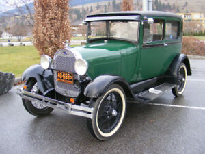 1928 Ford Model A Tudor Deluxe