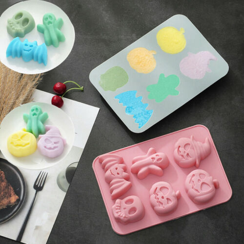 Christmas Cake Jelly Cookies Soap Mold Chocolate Baking Mould Tray Wax Ice Cube