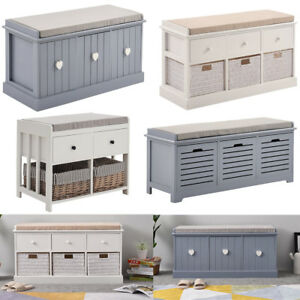 Modern Wooden Storage Units Wicker Basket Drawers Bedroom Hallway